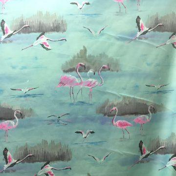 Flamingo Aqua
